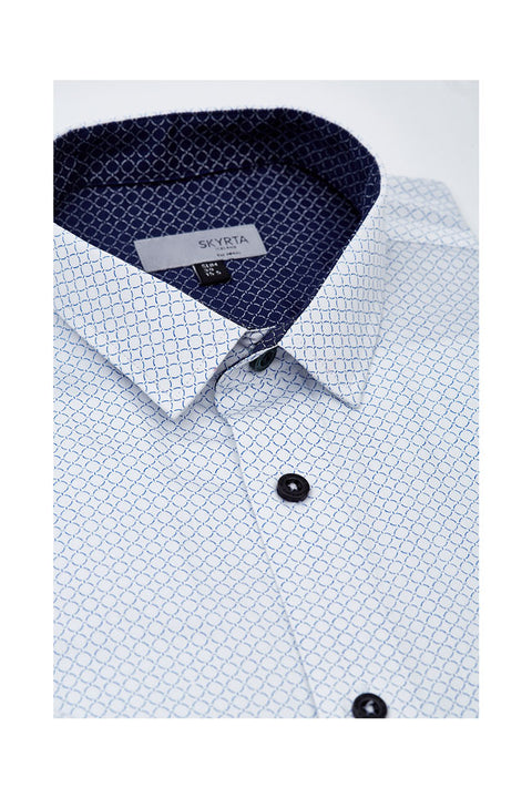 Mens classic white shirt from iceland
