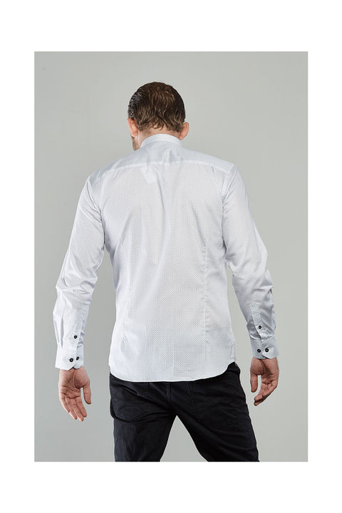 Chann-white-shirt-for-men-evening-shirts mens wear