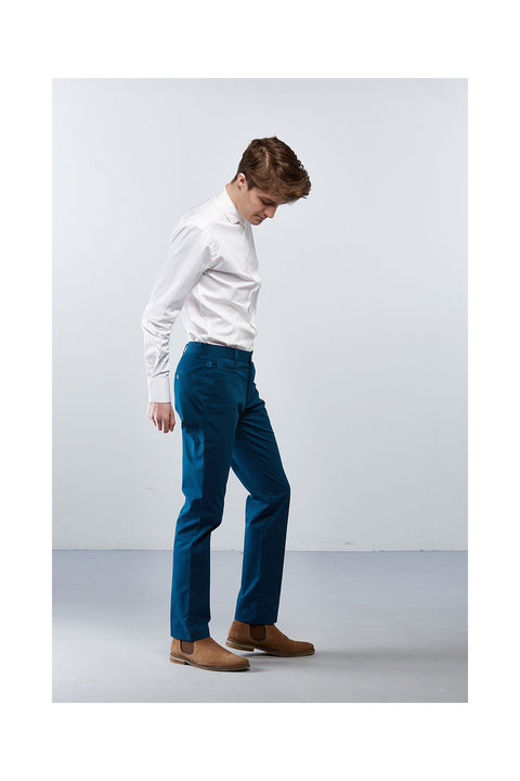 Fabrogos-teal-trousers-slim-fits-for-men-size-32