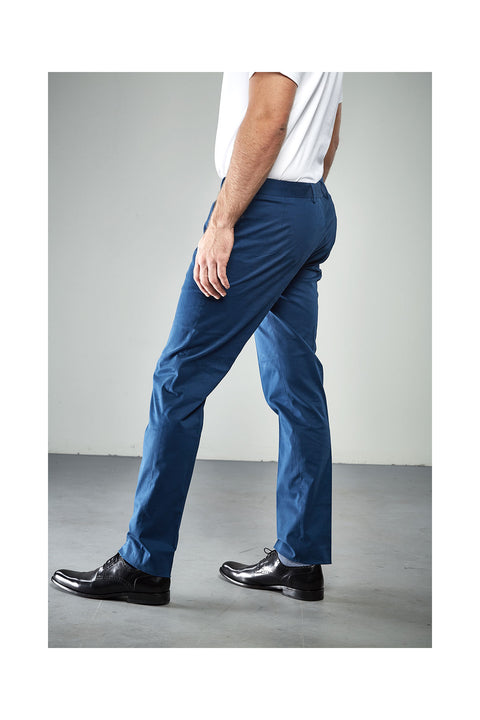 Gurgen Indigo blue trousers in slim fits for men
