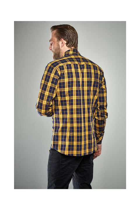 Reynir-Checkered-yellow-shirt-size-41-Icelandic-shirts for men