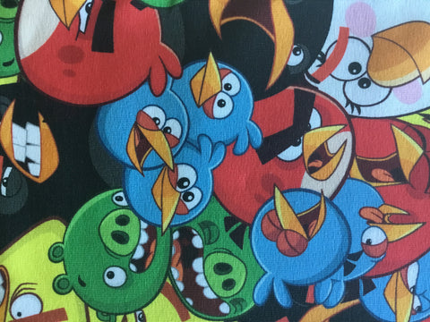 Digital Print med Angry Bird - Økotex