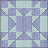 Amish Star Traditional Quilt Block Pattern Download