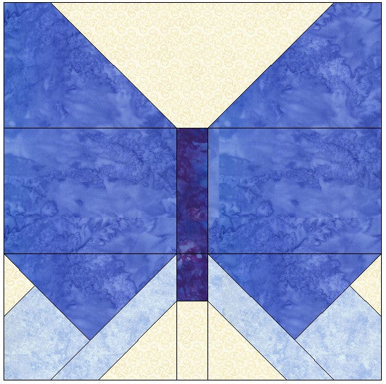 Butterfly Quilt Block Pattern Download