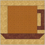Coffee Cup Quilt Block Pattern Download