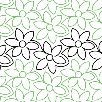 Daisy Delight Quilt Design