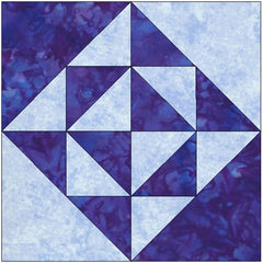 Diamonds in the Rough Quilt Block Pattern Download