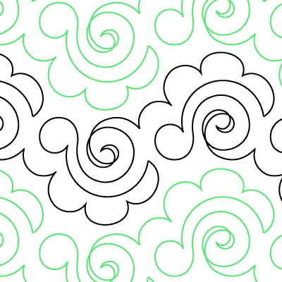 Escargot Quilt Design
