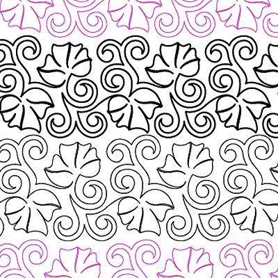 Fairy Swirls Quilt Design