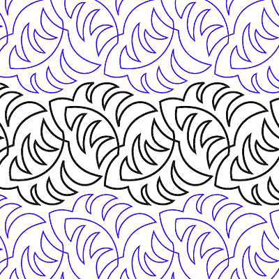 Ferns Quilt Design