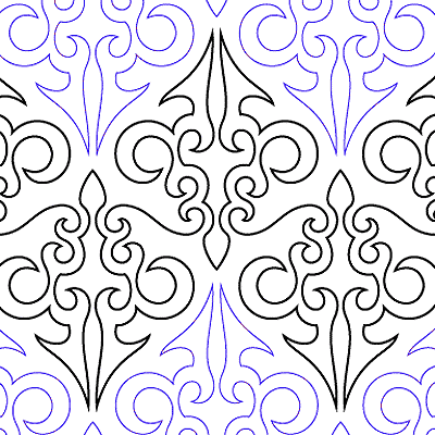 Filigree Quilt Design