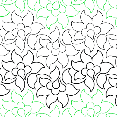 Fresh Flowers Quilt Design