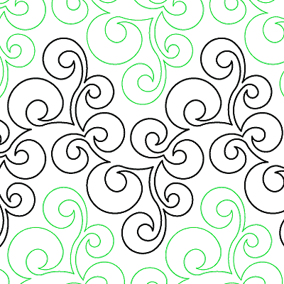 Froth and Bubble Quilt Design