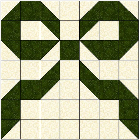 Bow or Ribbon Quilt Block Pattern Download