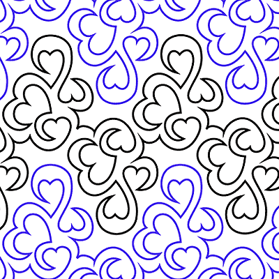 Hearts Entwined Quilt Design