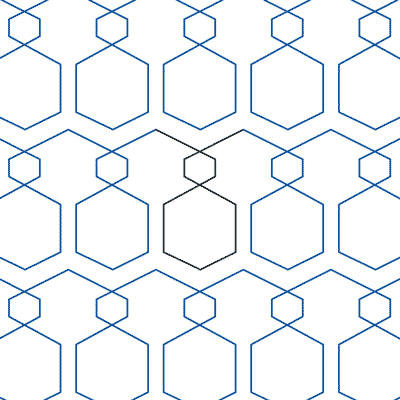 Hexercise Quilt Design