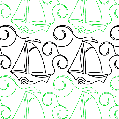 High Seas Quilt Design