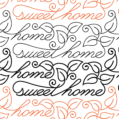 Home Sweet Home Quilt Design