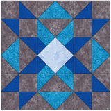 Kaleidescope Quilt Block Pattern Download