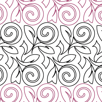 Lollipop Rose Quilt Design
