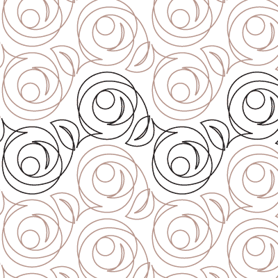 Macintosh Rose Quilt Design