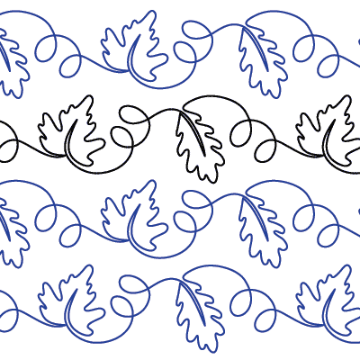 My Favorite Leaves Quilt Design