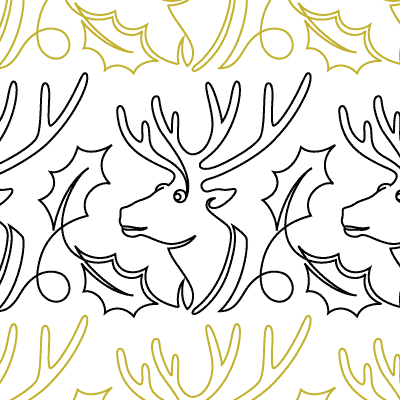Prancer Quilt Design