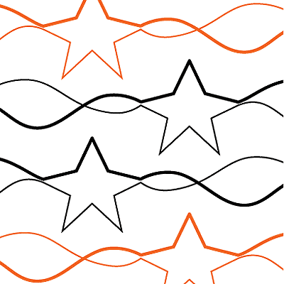 Stars and Stripes Quilt Design