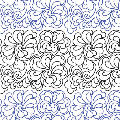 Swirly Gig Quilt Design