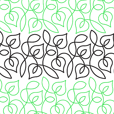 Trailing Vine Quilt Design