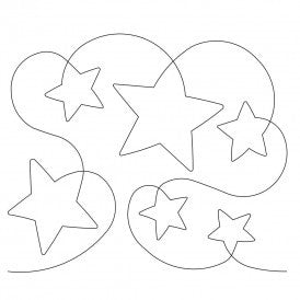 Wishing Star Quilt Design