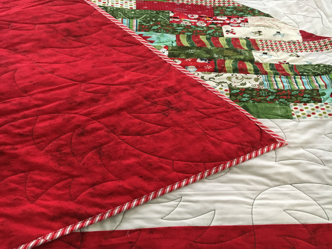 signature quilt custom made