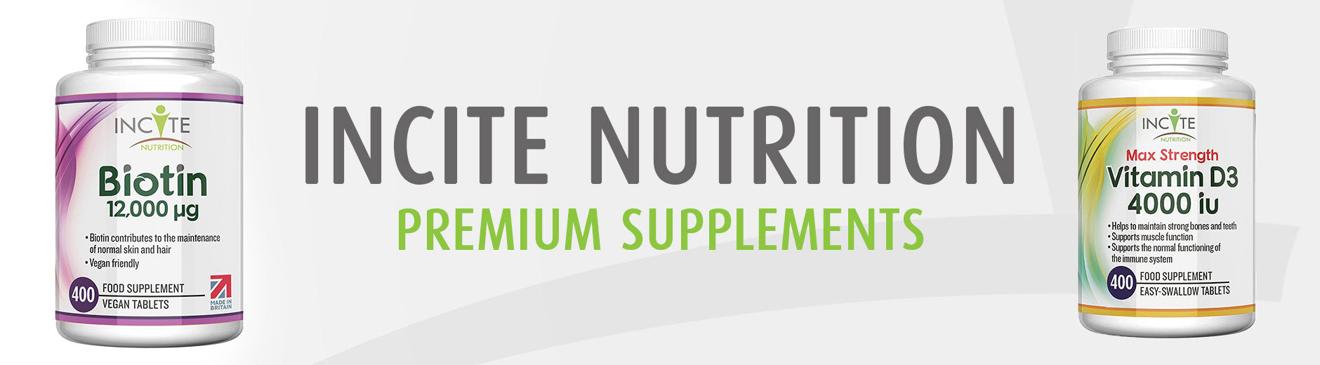 Incite Nutrition Premium Supplements