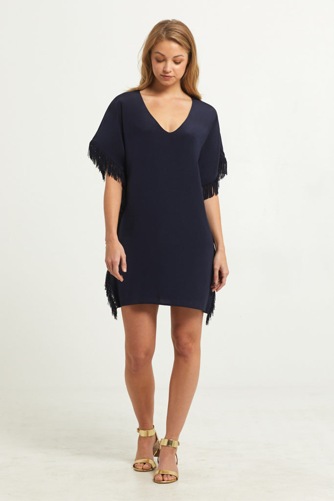 MAURA FRINGE DRESS