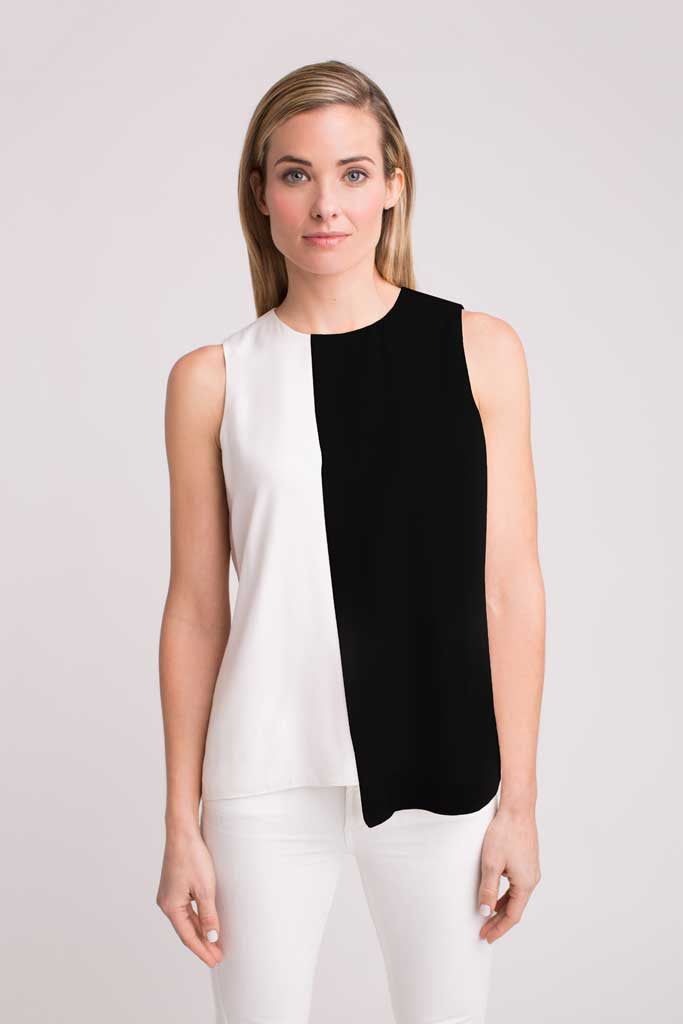 COLBY COLORBLOCK TOP