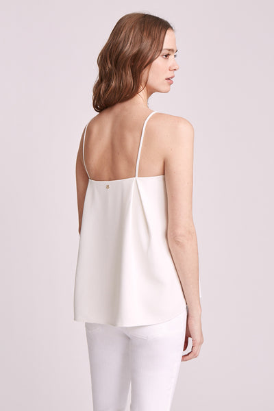 SIMONE EMBROIDERED TANK