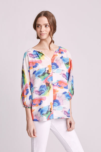 WHITNEY TOP PRINTED