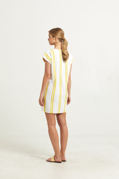 ANDI BUTTON FRONT DRESS