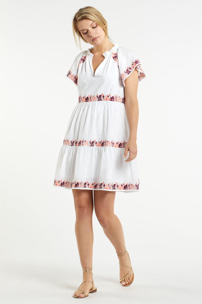 ELLIE EMBROIDERY DRESS