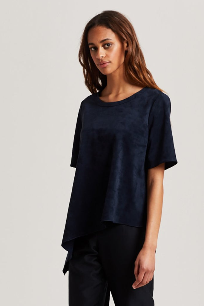 ADDIE SUEDE TOP