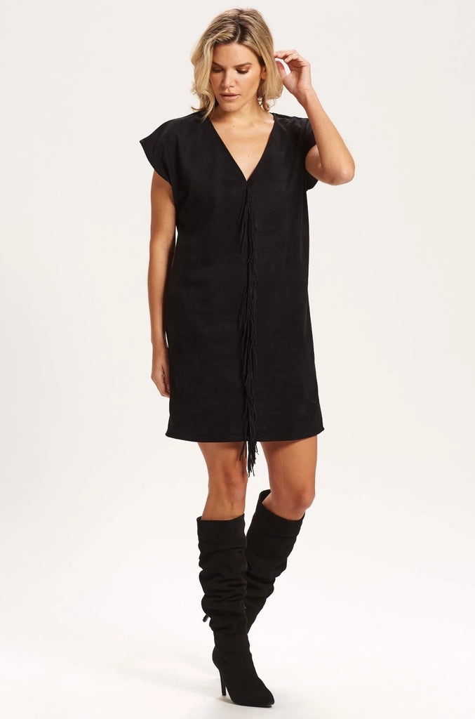 ANDI SUEDE DRESS