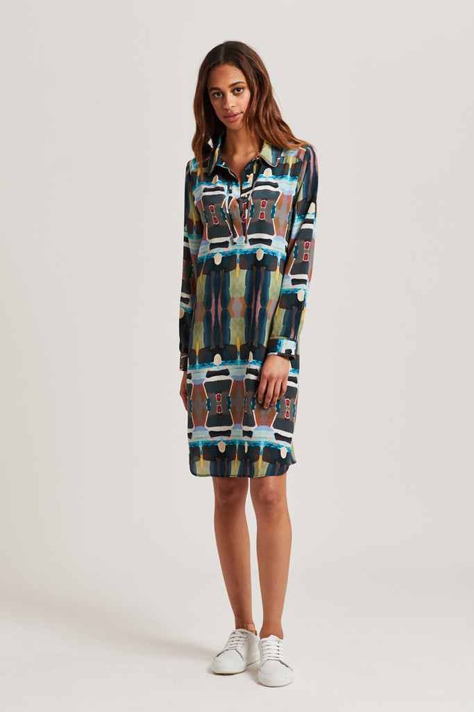 KATHLEEN SHIRT DRESS