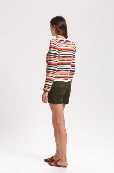 MILEY STRIPED SWEATER
