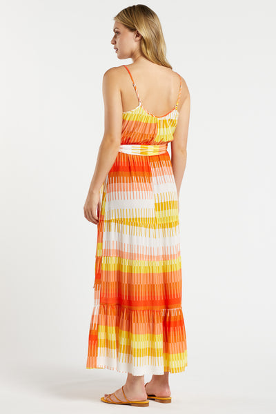 KINLEY TIERED MAXI
