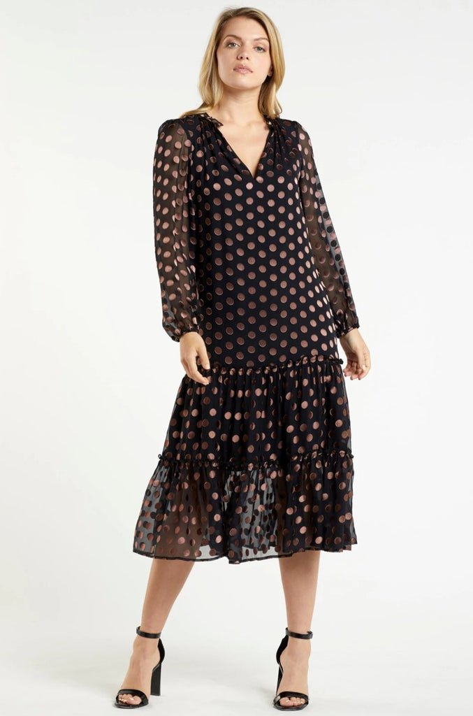 REID LONG SLEEVE DRESS
