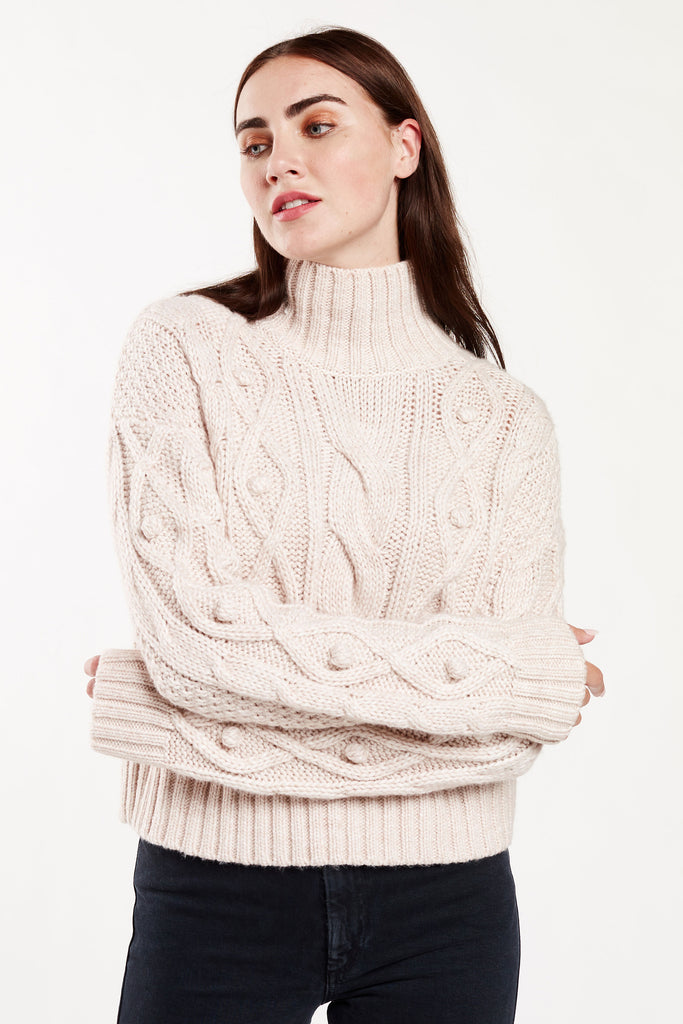 CECILE BAUBLE SWEATER