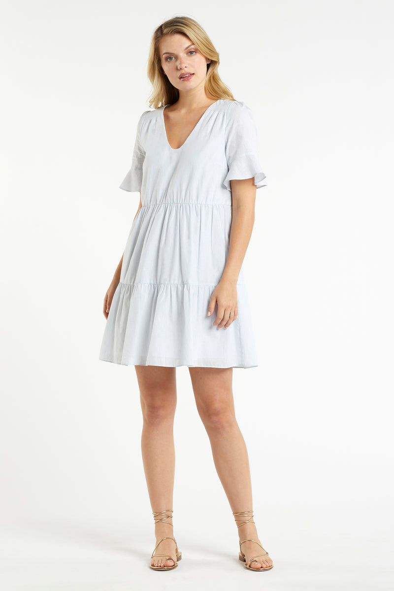 VANESSA TIERED DRESS