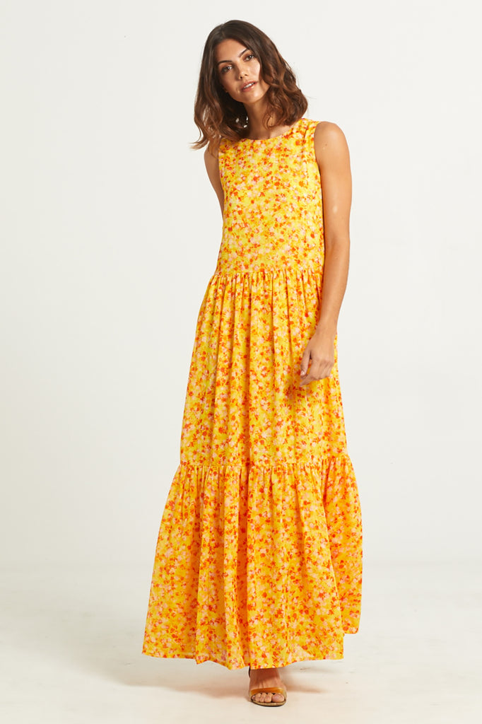 BLAIR TIERED MAXI DRESS