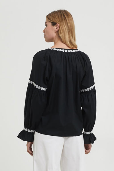 CERCI EMBROIDERED BLOUSE