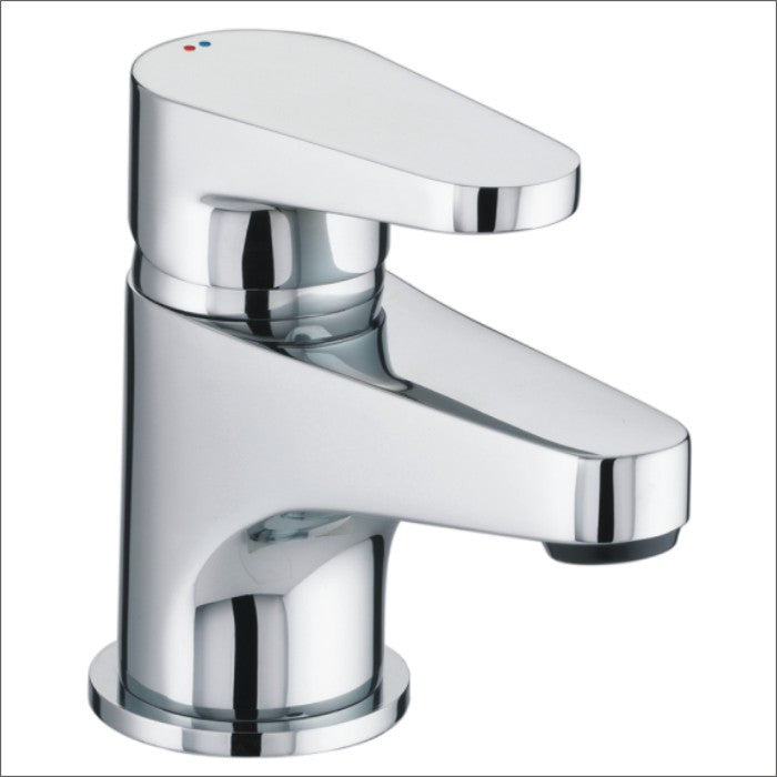 Bristan Quest Basin Mixer With Clicker Waste Chrome Plated
